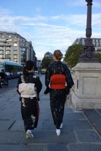 Kimono in Paris