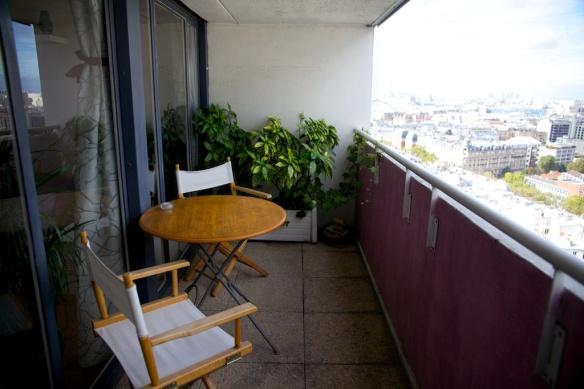 Chez Moi, Chez Vous - ma loggia qui domine tout Paris !